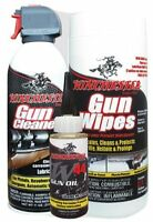 Winchester Kg-377-007 3 Piece Deluxe Gun Cleaning Care Kit Wipes Oil Cleaner