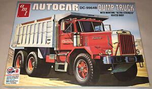 AMT-Autocar-Dump-Truck-1-25-scale-model-truck-kit-new-1150