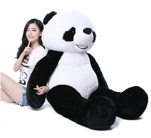 72 Giant Hung Big Panda Teddy Bear Stuffed Animals Plush Toys Doll
