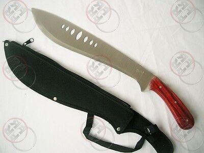SURVIVAL HUNTING KNIFE MACHETE /W SHEATH W-ORJ