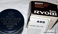 Ryobi 455 Fly Reel Boxed Etc. Unused