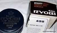 Ryobi 455 Fly Reel Boxed Etc. Unused