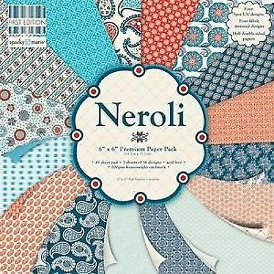 Sample Pack First Edition Neroli – 16 x 6x6 designer Paper Packs