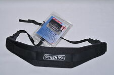 OP/TECH PRO WEIGHT REDUCING SLR CAMERA STRAP DSLR NEOPRENE PADDED OPTECH - BLACK