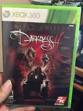 The Darkness II -- Limited Edition (Microsoft Xbox 360, 2012) Brand New Sealed