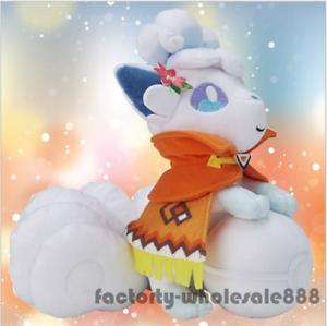 60cm Sällsynta biltoon Go Original Alola Vulpix Fylld docka mjuk leksaker Kid Gift