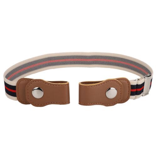 Kids Children Baby Elastic Waist Belts Invisible Hassle Waistband-No Buckle