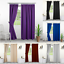 thumbnail 2 - Blackout Curtains Eyelet And Pencil Pleat Thick Thermal Curtains With Tiebacks