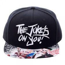 OFFICIAL DC COMICS SUICIDE SQUAD THE JOKER 'THE JOKE'S ON YOU!' SNAPBACK CAP
