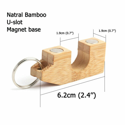 Maxcatch 2pcs Portable Fly Fishing Rod Guard//Holder Foam//Bamboo Material