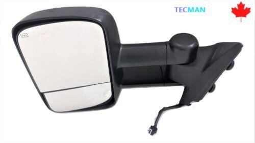 door mirror fits Chevy Silverado Gmc Sierra 08 13 Driver Side tow mirror power