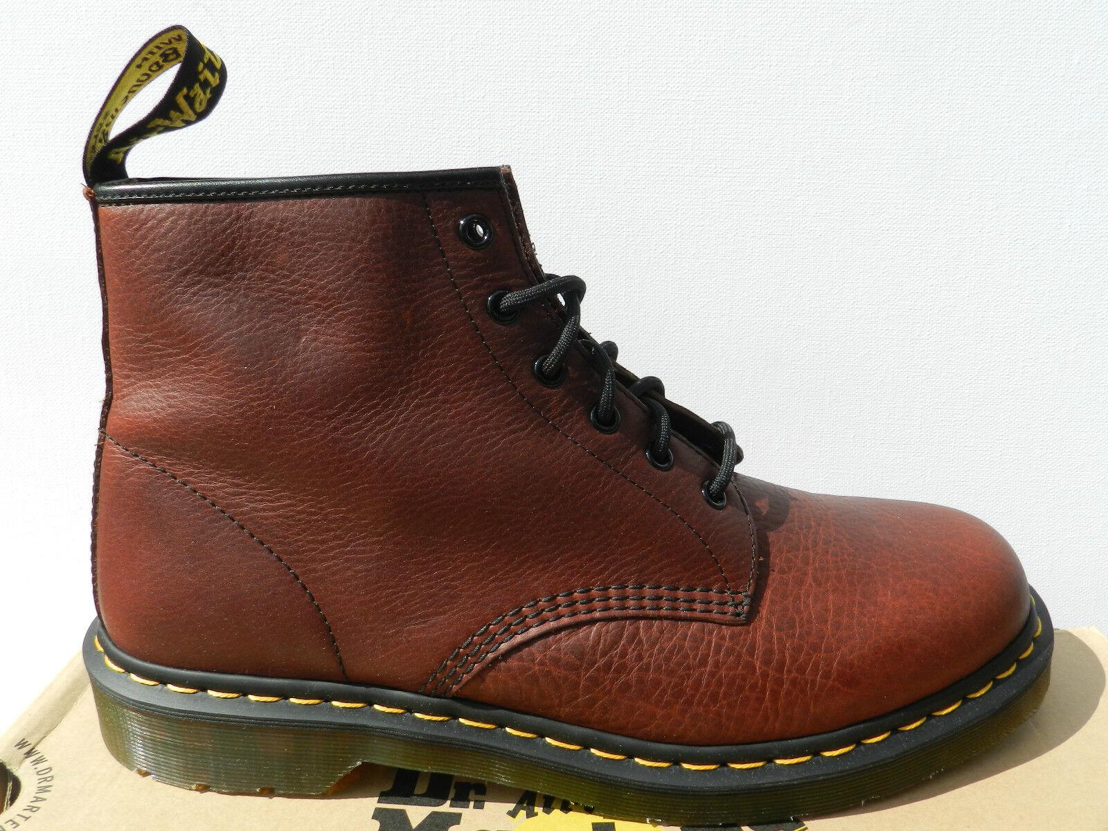 Dr Martens 101 Inuck Oxblood Vintage zapatos Homme 47 botas 1460 UK12 Neuf