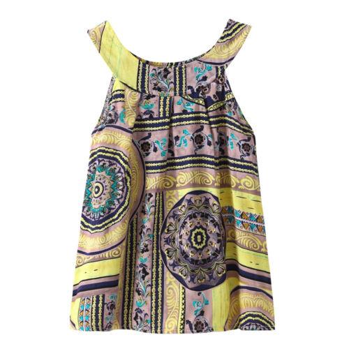Summer Baby Kids Girl Toddler Princess Party Floral Print Tutu Dress 2-7 Years S