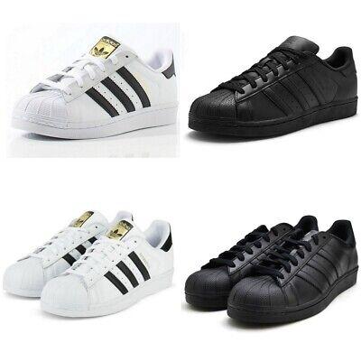 Adidas Originals Superstar Foundation Sneaker weissalle schwarz Herren Größe 7 8 9 | eBay