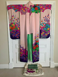 Authentic Japanese KIMONO from Japan made from silk