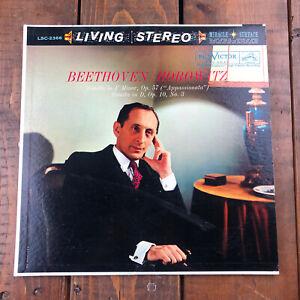 RCA LIVING STEREO LSC-2366 *SHADED DOG* BEETHOVEN  HOROWITZ RECORD VINYL VG+