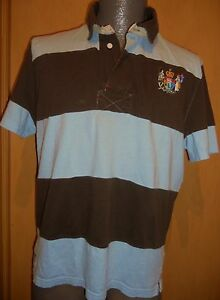 Image Is Loading Canterbury Charlie Light Blue Amp Brown Striped Mens