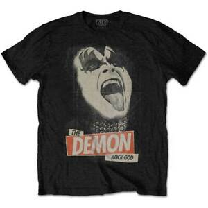 Kiss-The-Demon-Rock-God-Official-Merchandise-T-Shirt-S-M-L-XL-2XL-NEU