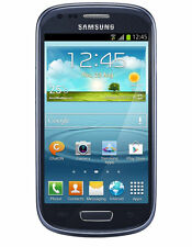 Samsung Galaxy S III Mini GT-I8190 - 8GB - Pebble Blue Unlocked Smartphone