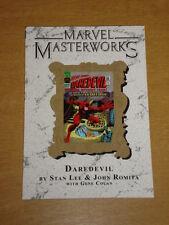 MARVEL MASTERWORKS DAREDEVIL VOL 29 COLLECTS #12-21 JOHN ROMITA <  9780785150510
