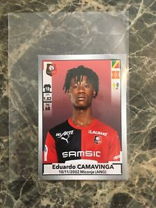 2019-20-PANINI-LIGUE-UN-EDUARDO-CAMAVINGA-ROOKIE-STICKER-READ-DESCRIPTION