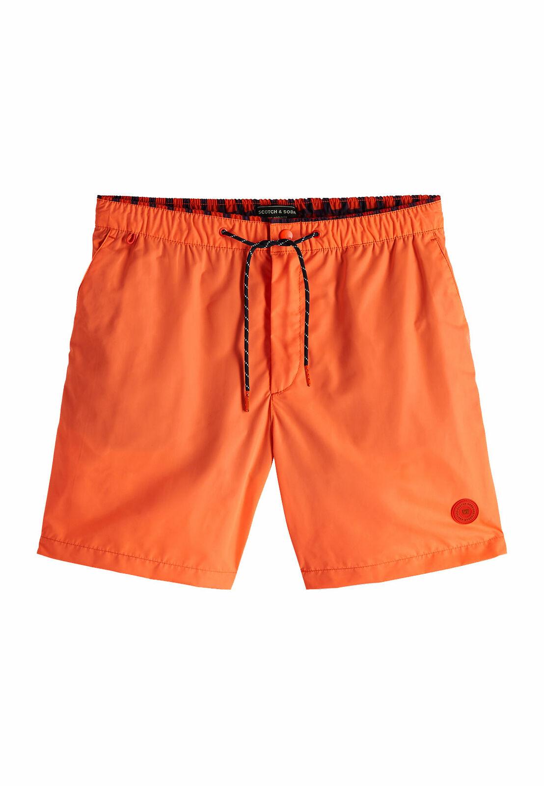 Scotch & Soda badeshorts  Classic colourful swimshort 148551 combo f 0222 naranja  encuentra tu favorito aquí