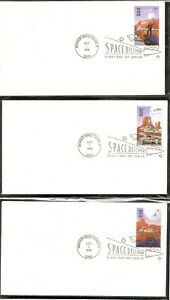 US-SC-3238-3242-Space-Discovery-FDC-No-Cachet