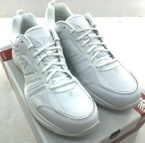 NEW-New-Balance-MX409PR2-Men-039-s-White-Crosstrainer-Shoes-D-2E-4E
