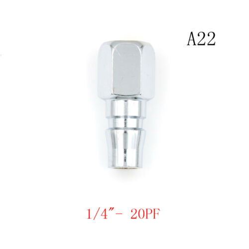 1//4/'/' 3//8/'/' 1//2/'/' Euro Air Line Hose Compressor Fitting Coupler Quick Rele/_vi