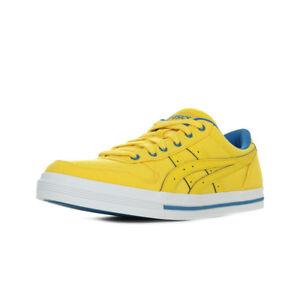 basket asics jaune