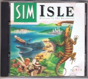 Sim Isle: Missions in the Rainforest (PC, 1995) Game Complete! Free USA Shipping