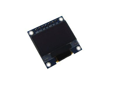 """HQ 0.96"""" 128*64 OLED Graphic Display Module SPI LCD - Color Blue"""