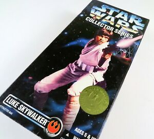 Kenner-Star-Wars-LUKE-SKYWALKER-Collector-Series-1997-12-034-Inch-Action-Figure-New