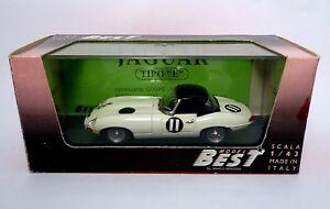 """Jaguar Tipo /""""E/"""" Spyder Nurburgring 1963 Best Model 1:43"""