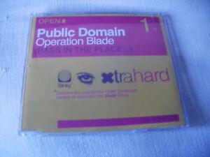 PUBLIC-DOMAIN-OPERATION-BLADE-HOUSE-CD-SINGLE