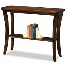 Leick Furniture 10332 Boa Collection Solid wood Hall Console Table