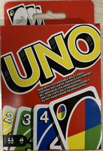 Mattel UNO Gioco di Carte W2087 bambini adulti ragazzi game tavolo Nuovo