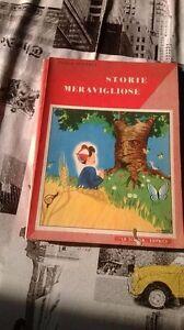 STORIE-MERAVIGLIOSE-di-Paolo-Segnali-Ediz-La-Scuola-1954
