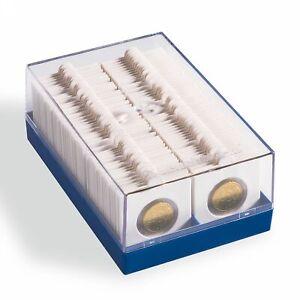 Coffret-pour-Pieces-de-Monnaie-de-Collection-100-Cadres-Carton-Autocollants
