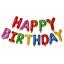 miniature 12 - Joyeux-Anniversaire-Ballons-Banniere-Ballon-Bunting-Party-Decoration-gonflage-decor