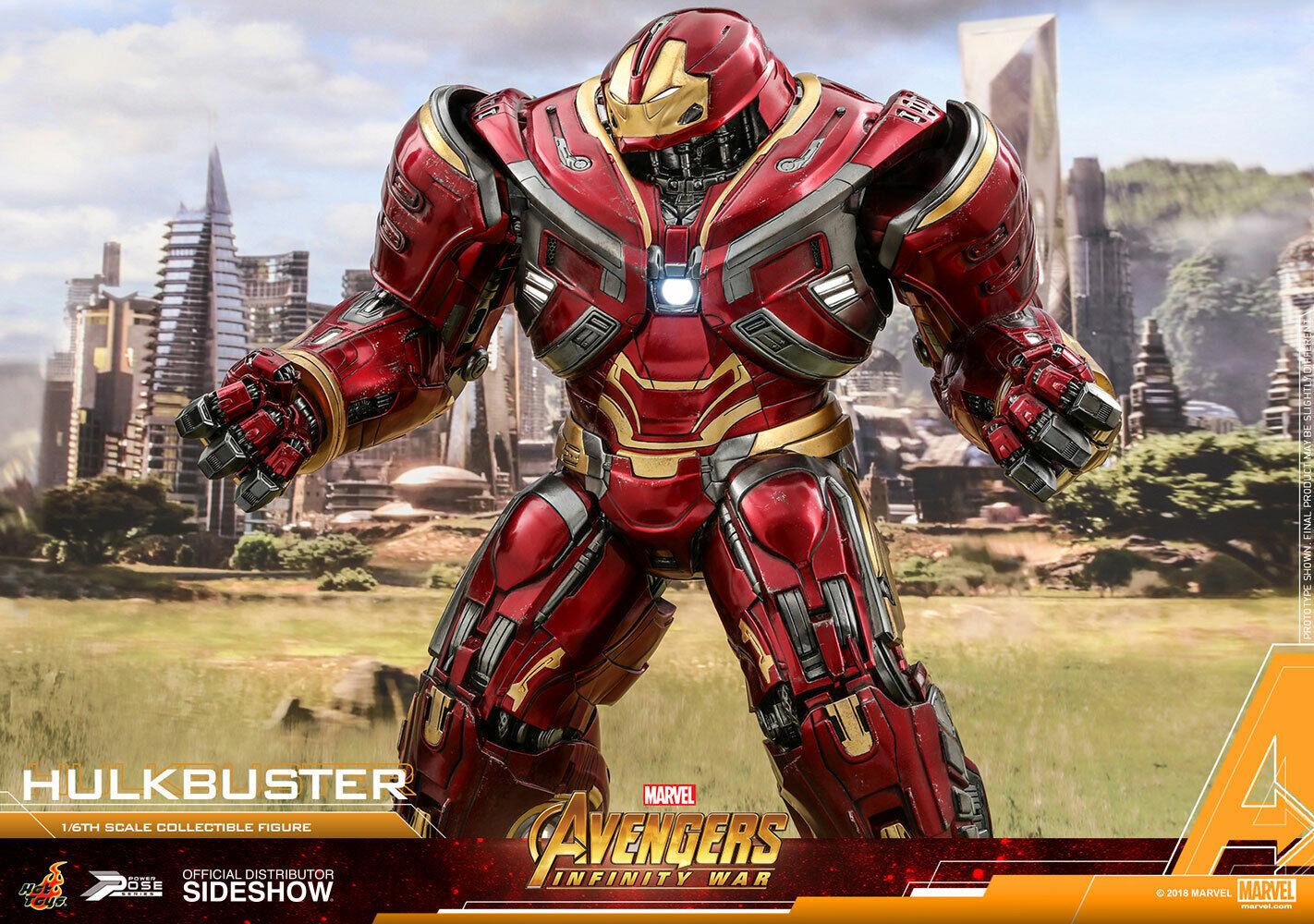 1 6 HOT TOYS PPS005 los Vengadores  Infinito Guerra Hulkbuster Mark 2.0 (50CM) figura