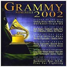 Grammy Nominees 2002-U2/BOB DYLAN/MICHAEL JACKSON... (CD 2002 Universal MINT CD