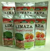 6 Linaza Tadin Nopal Y Toronja / Flax Seed Cactus & Grapefruit, With Omega