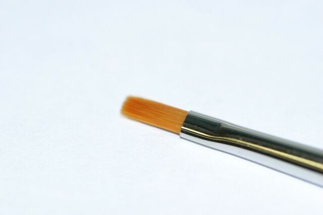 87046 Tamiya High Finish Flat Brush No.0 Paint Brushes Model Paint Brush