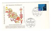 BRD FDC Ersttagsbrief 1965 Funkausstellung Stuttgart Mi.Nr.481