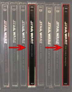 Spine Magnet for The Last Jedi /Solo/Rogue One to match Star Wars 1-6 Steelbooks