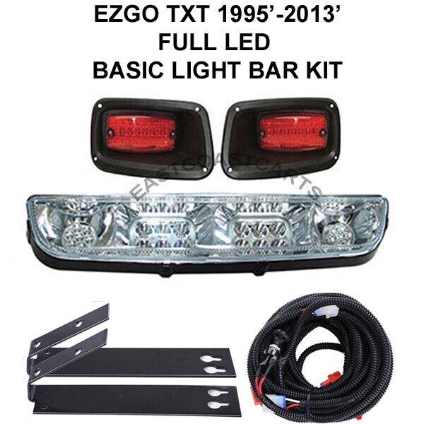 EZGO TXT FULL LED LIGHT BAR LIGHT KIT,  LED Headlights and LED Taillights  a la venta
