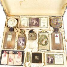 Vtg Yardley set London English Lavender soap compact salts talc perfume cream