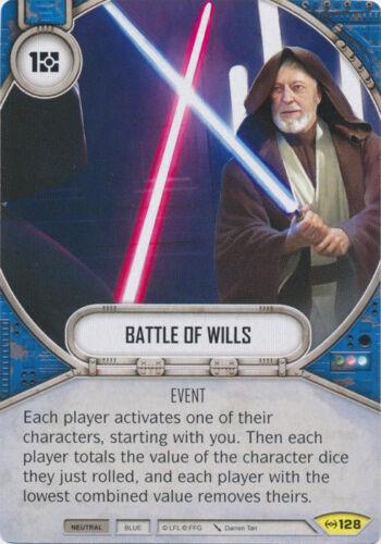 128  NM SW Destiny Uncommon 2x Battle of Wills Empire at War
