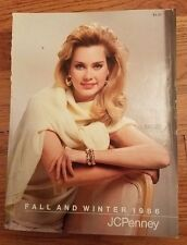 JCPenney's Fall and Winter Catalog 1986 Vintage Book Antique Classic Clothing